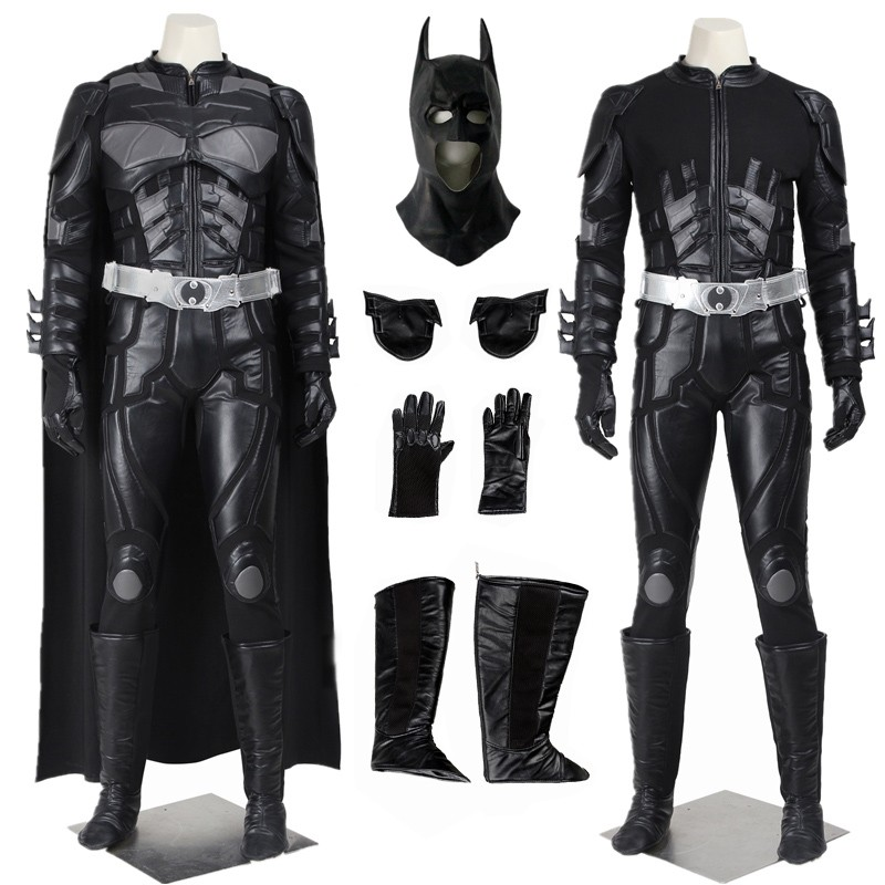 Batman The Dark Knight Rises Black Batman Cosplay Costume