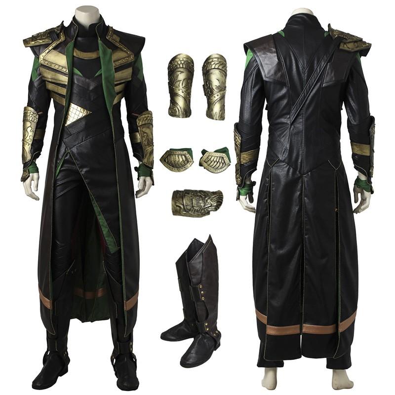 Thor The Dark World Loki Cosplay Costume