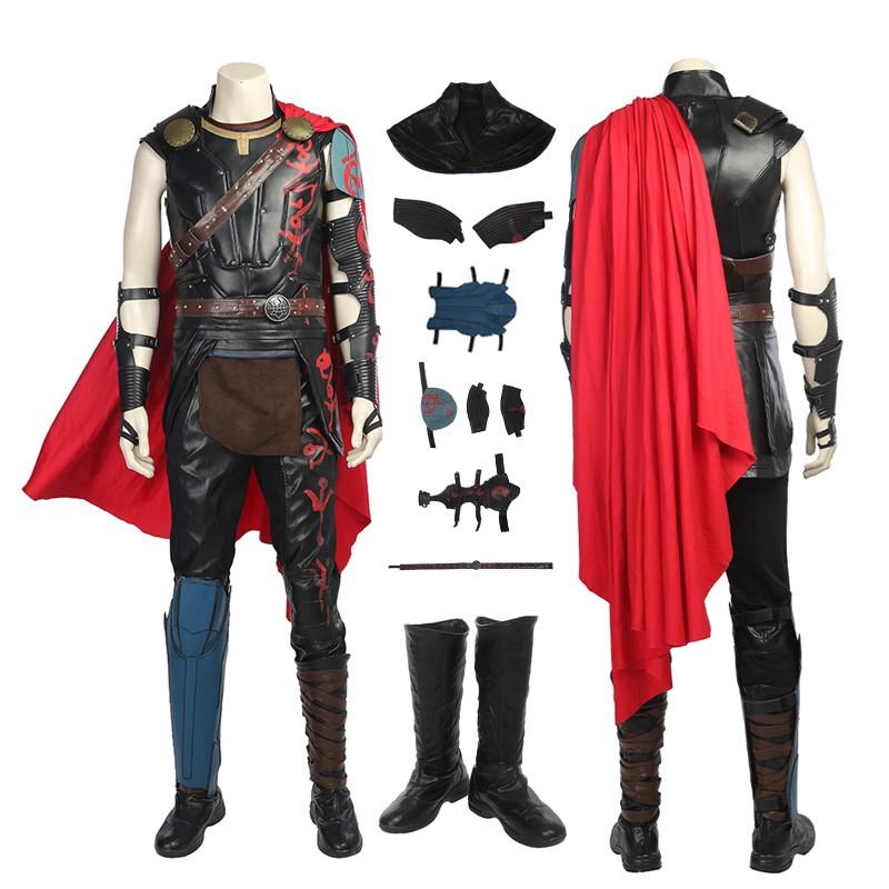 Top Grade Thor 3 Ragnarok Thor Odinson Cosplay Costume