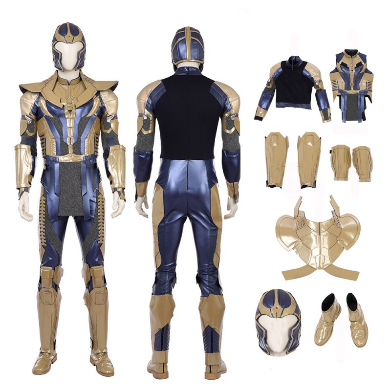 Avengers Infinity War Thanos Cosplay Costume Top Level