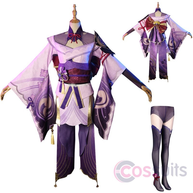 Baal Costume Game Genshin Impact Cosplay Outfit