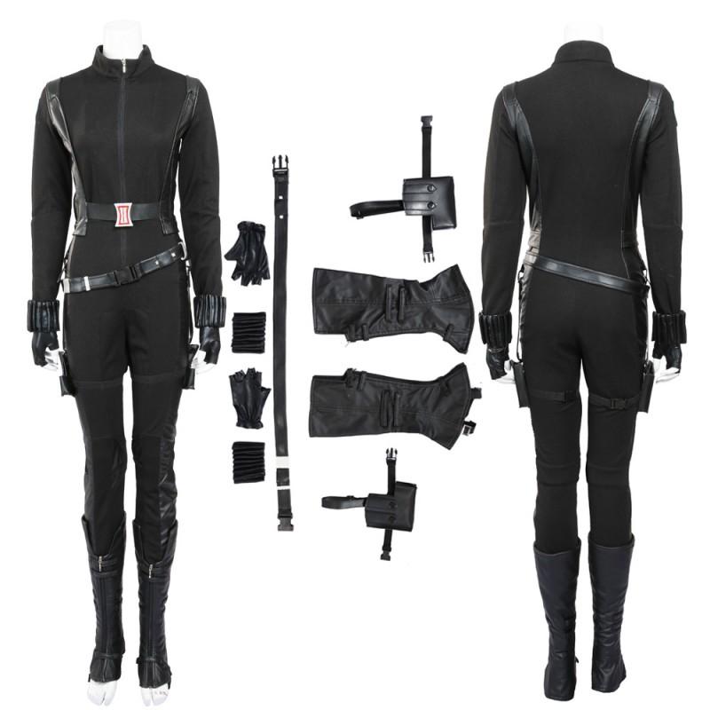 Captain America The Winter Soldier Black Widow Natasha Romanoff Cosplay Costume