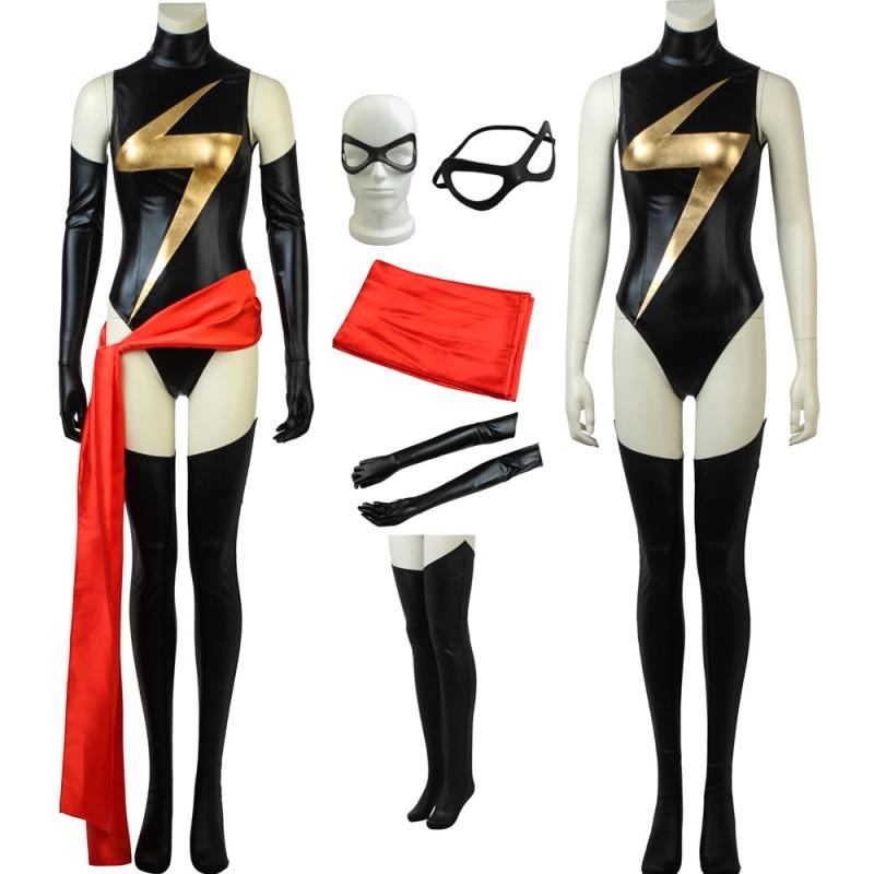 Captain Marvel Costume Carol Danvers Cosplay Suit