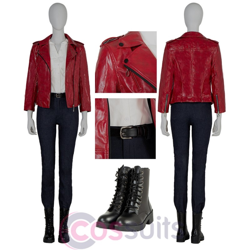 Claire Redfield Costume Resident Evil Infinite Darkness Cosplay Suit