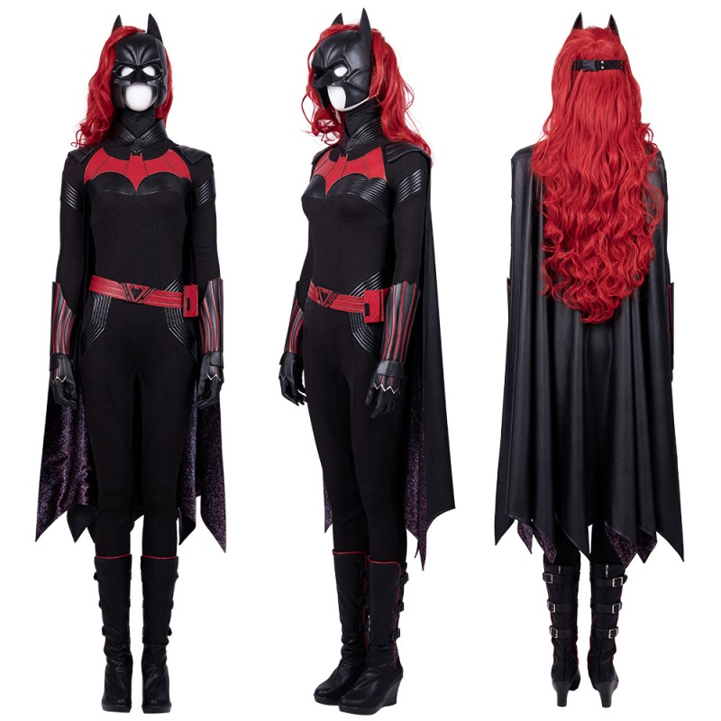 Batwoman Kate Kane Cosplay Costume Deluxe Outfit