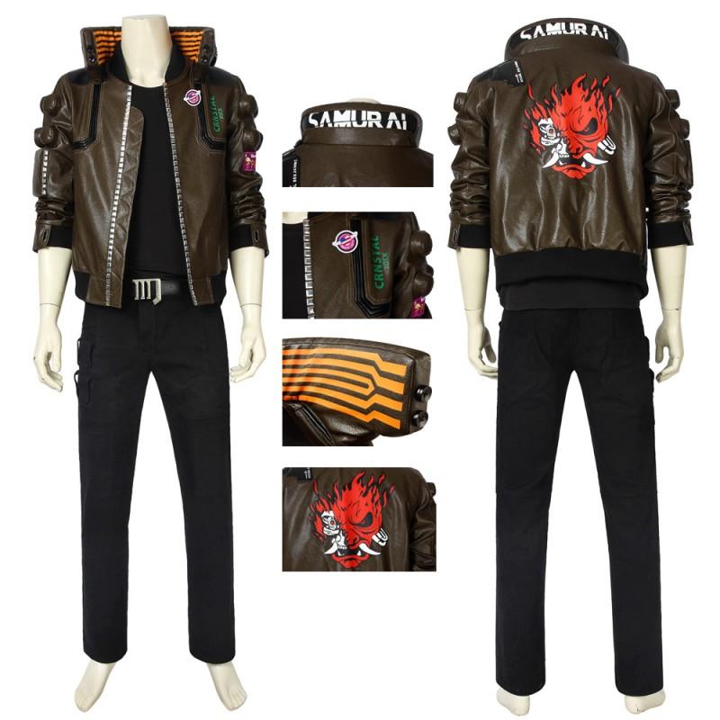 Cyberpunk 2077 Cosplay Costume Cyberpunk 2077 Male Jacket