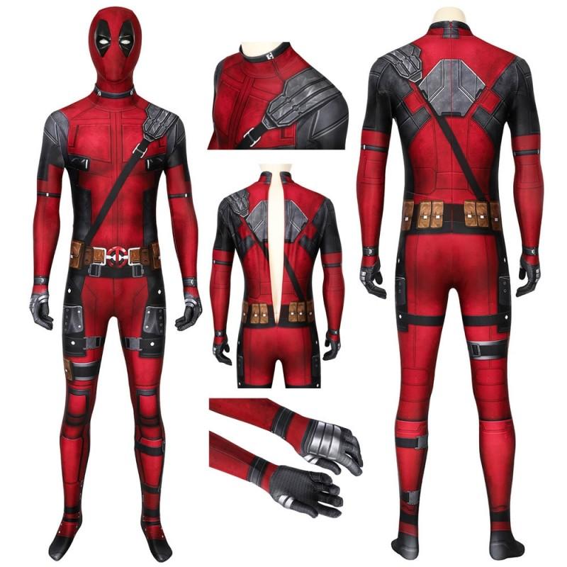 Deadpool Jumpsuit Deadpool Wade Wilson Cosplay Costume