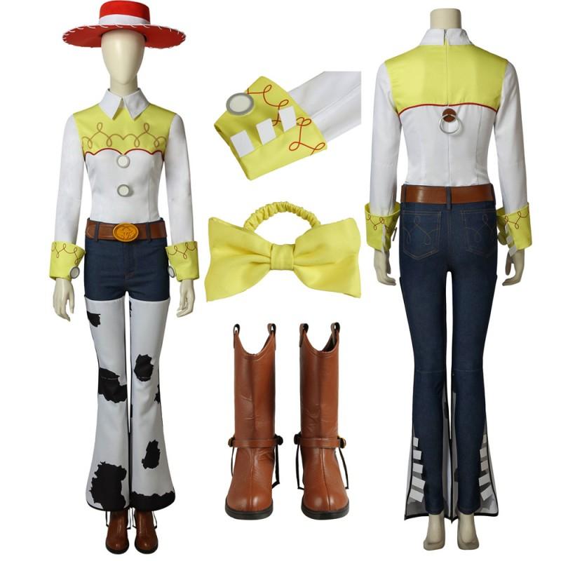 Disney Toy Story Jessie Cosplay Costume