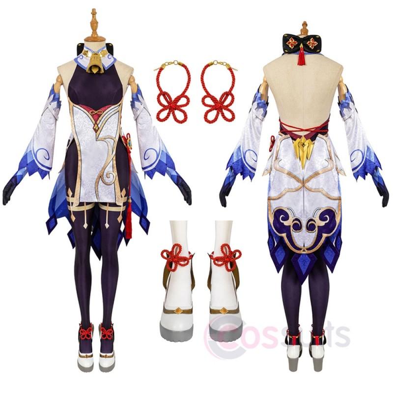 Genshin Impact Ganyu Cosplay Costumes Ganyu Cosplay Suit