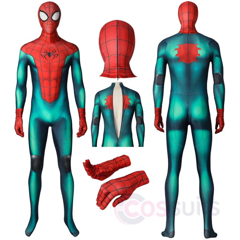Great Responsibility Spiderman Costume PS5 Spider-man Miles Morales Cosplay Suit