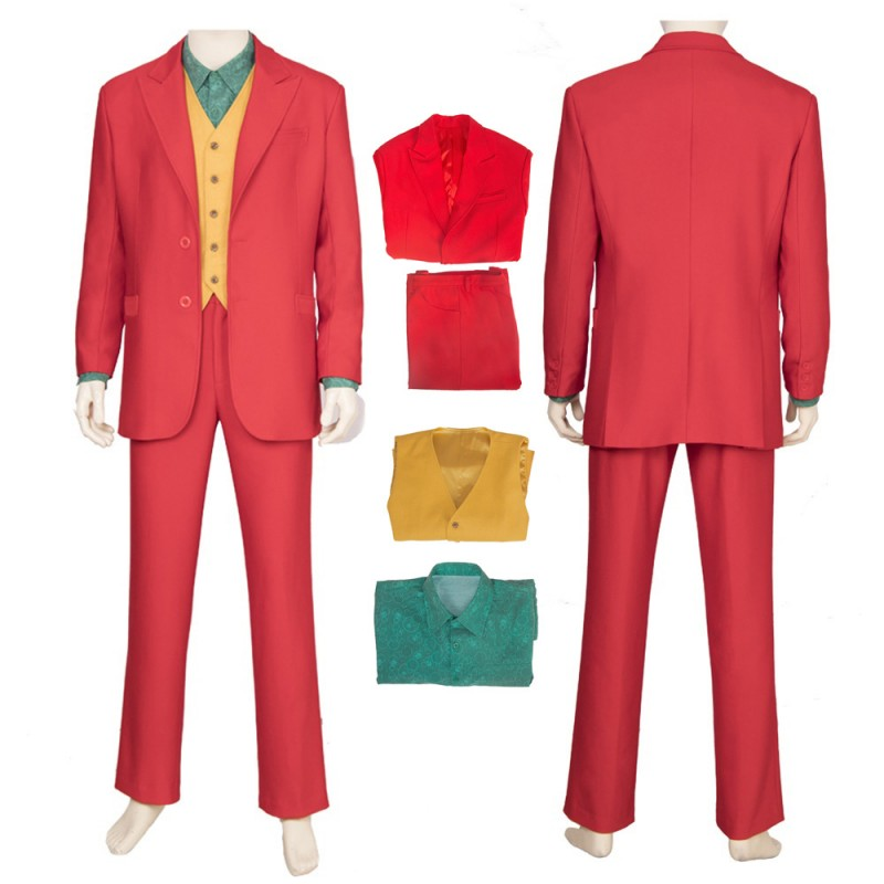 2019 The Joker Origin Cosplay Costume Arthur Fleck Cosplay Suit