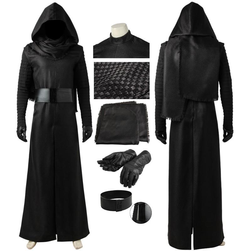 Kylo Ren Costume Star Wars The Force Awakens Cosplay Suit