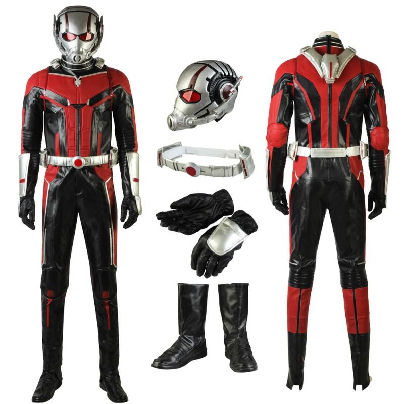 Scott Lang Costume Ant-Man Cosplay Suit Full set