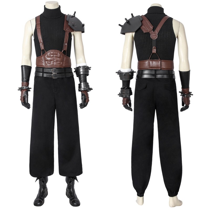 New Final Fantasy VII Cloud Strife Cosplay Outfit