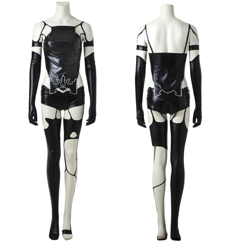 NieR Automata YoRHa Type A Black Cosplay Costume