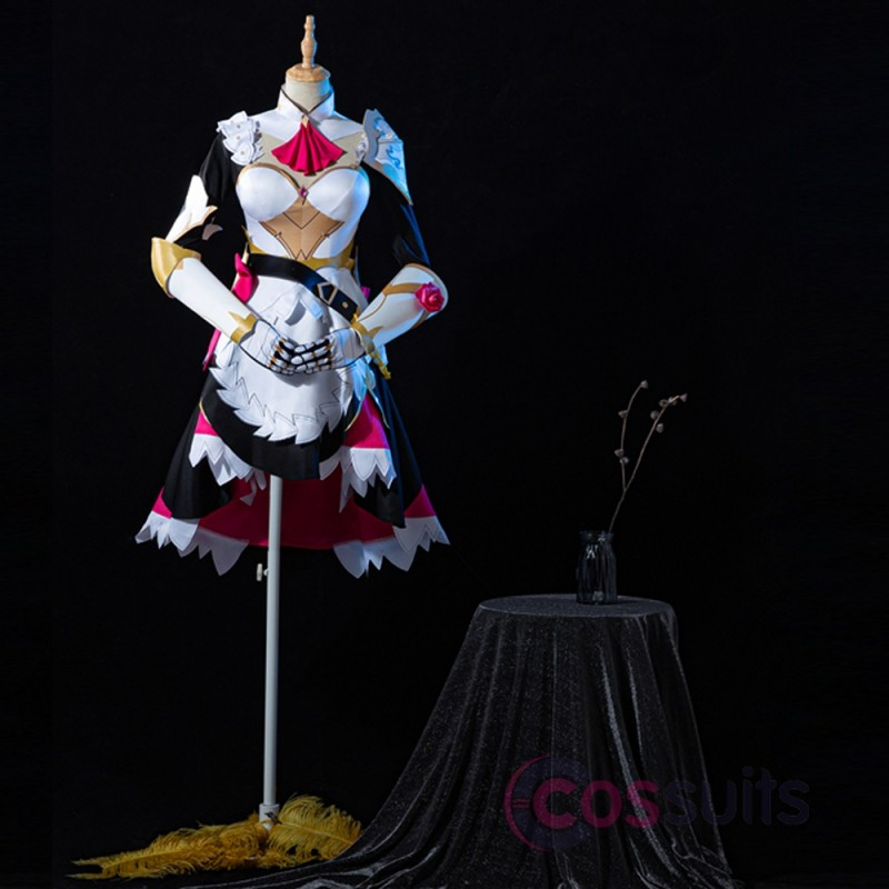 Noelle Costume Game Genshin Impact Cosplay Outfit