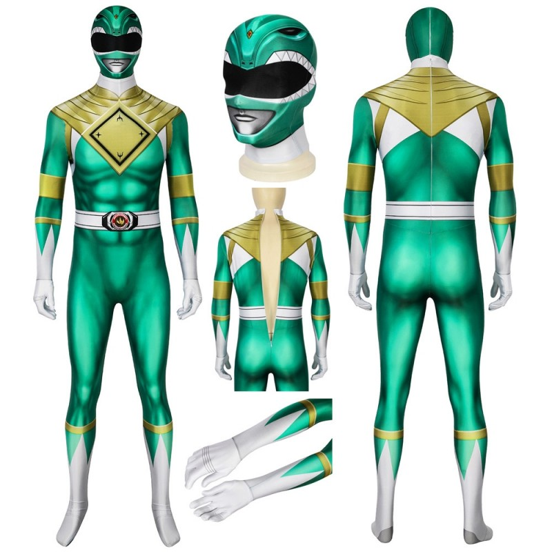 Power Rangers Costume Burai Dragon Ranger Cosplay Jumpsuit