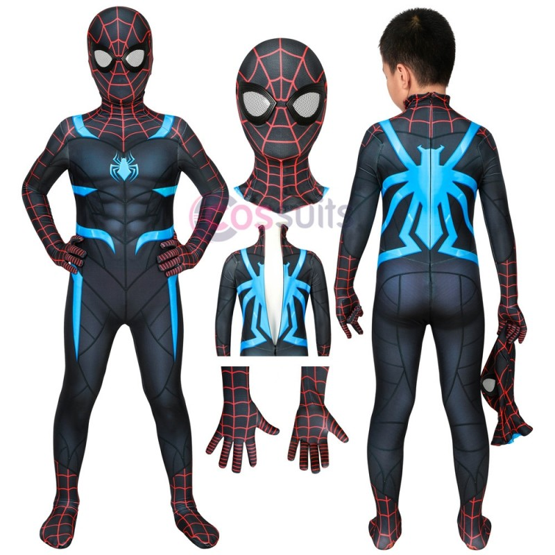 Spider-man Kids Costume Marvel's Spiderman Secret War Halloween Cosplay Costumes Gifts