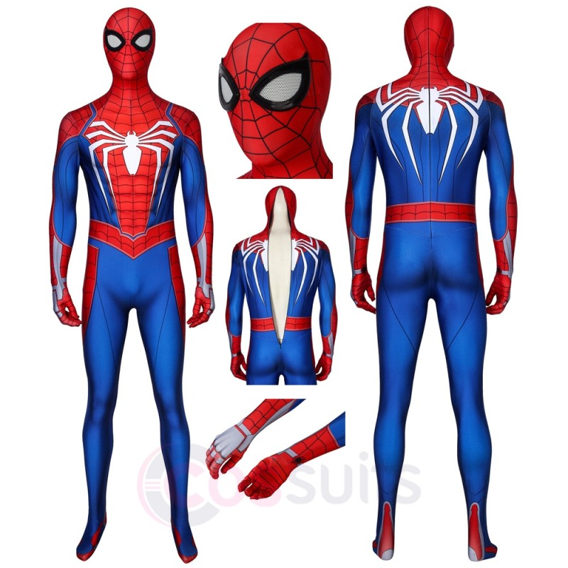 Spider-Man PS4 Costume Spiderman PS4 Cosplay Suit