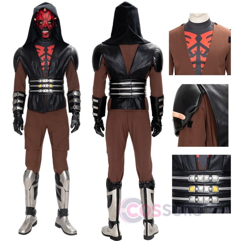 Star Wars Darth Maul Costumes Darth Maul Cosplay Suit