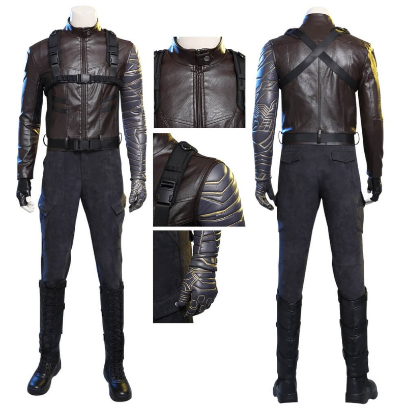 Winter Soldier The Falcon and the Winter Soldier Bucky Barnes Outfit