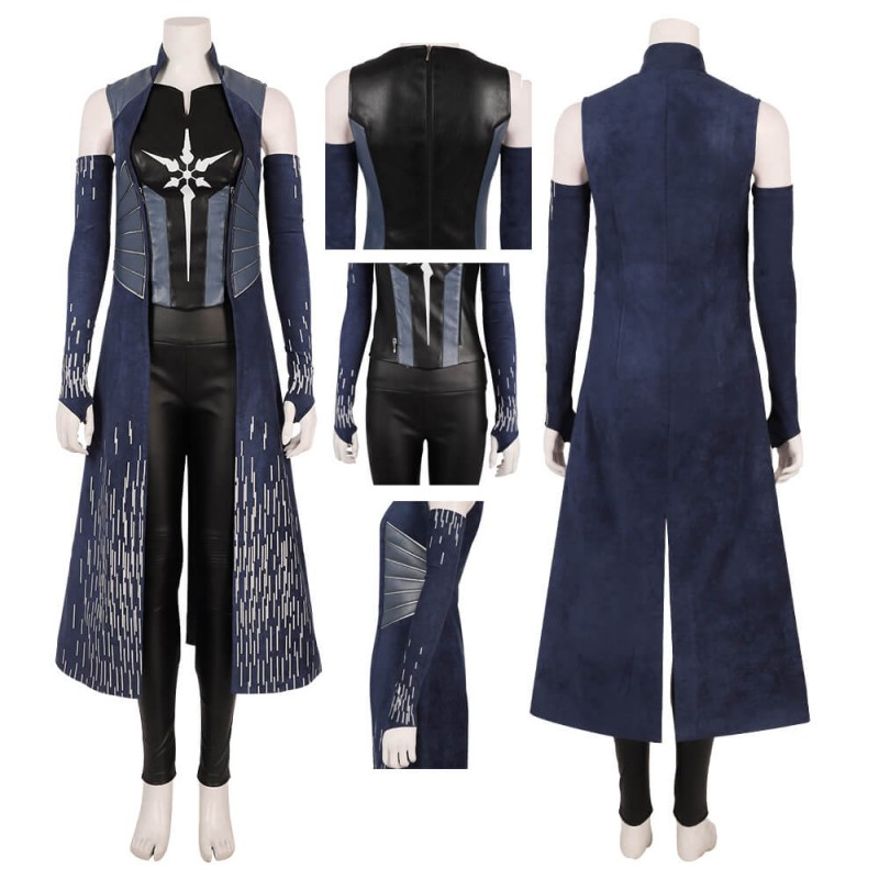 The Flash Season 6 Killer Frost Caitlin Snow Cosplay Costume For Women