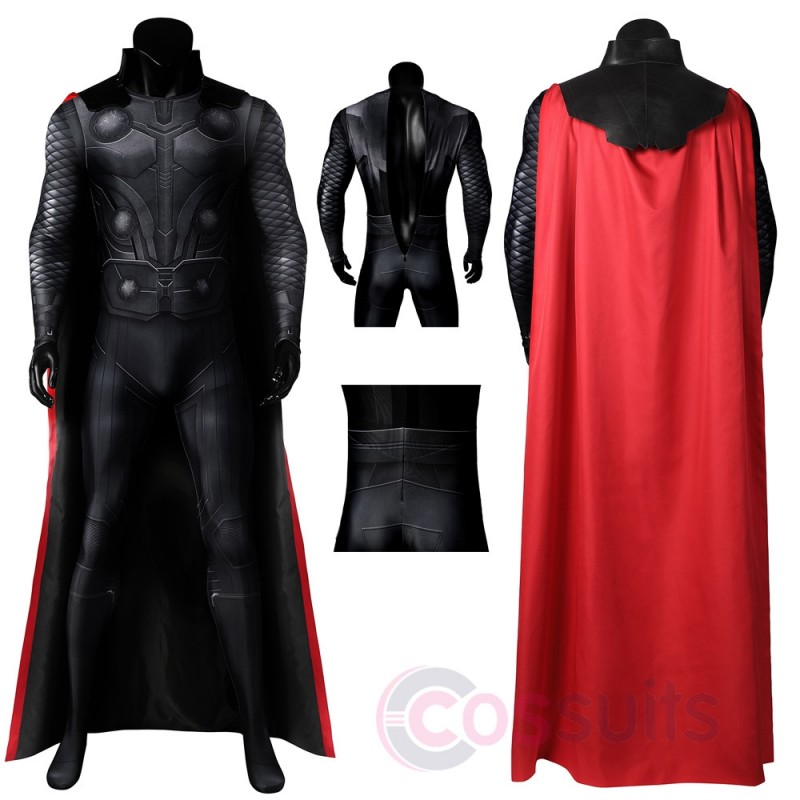 Thor Odinson Costume Avengers 3 Infinity War Cosplay Outfit