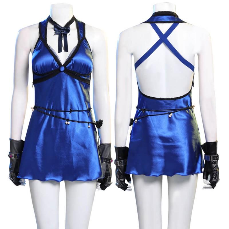 Tifa Lockhart Costume Final Fantasy VII Remake Women's Cosplay Dress