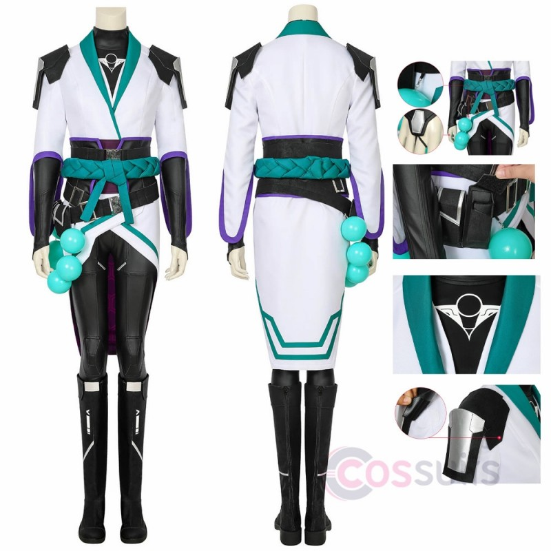 Valorant Sage Cosplay Costume Sage Cosplay Suit