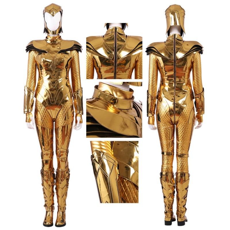 Wonder Woman 1984 WW84 Costume Diana Prince Golden Eagle Armor Cosplay Suit