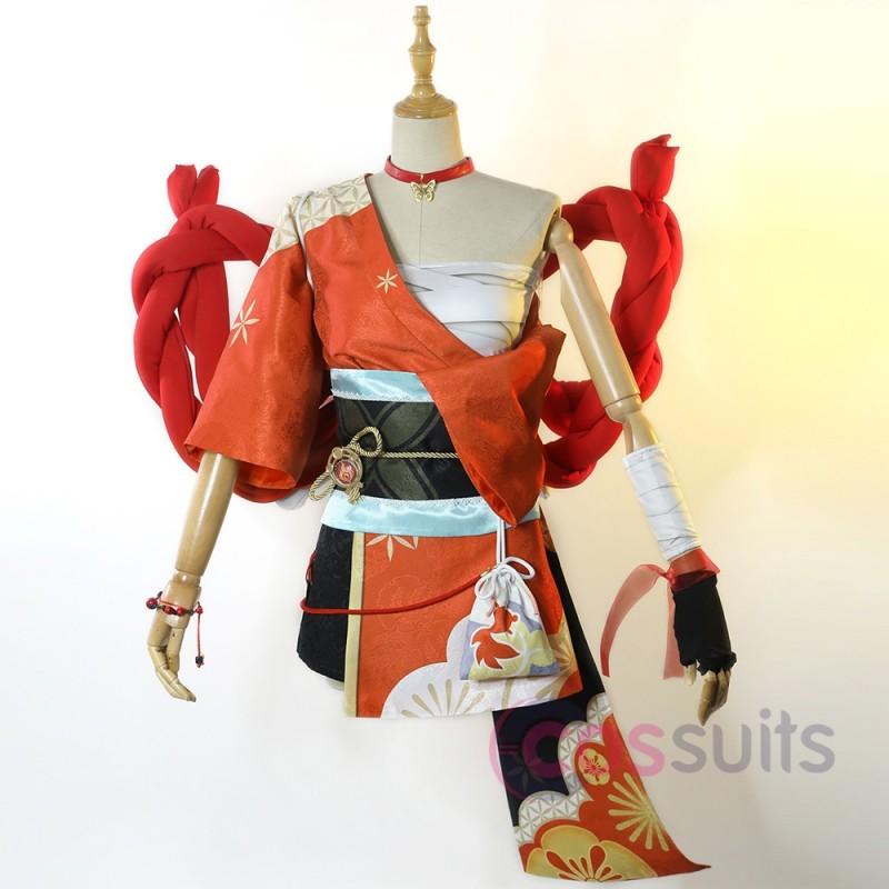Yoimiya Costume Game Genshin Impact Cosplay Outfit