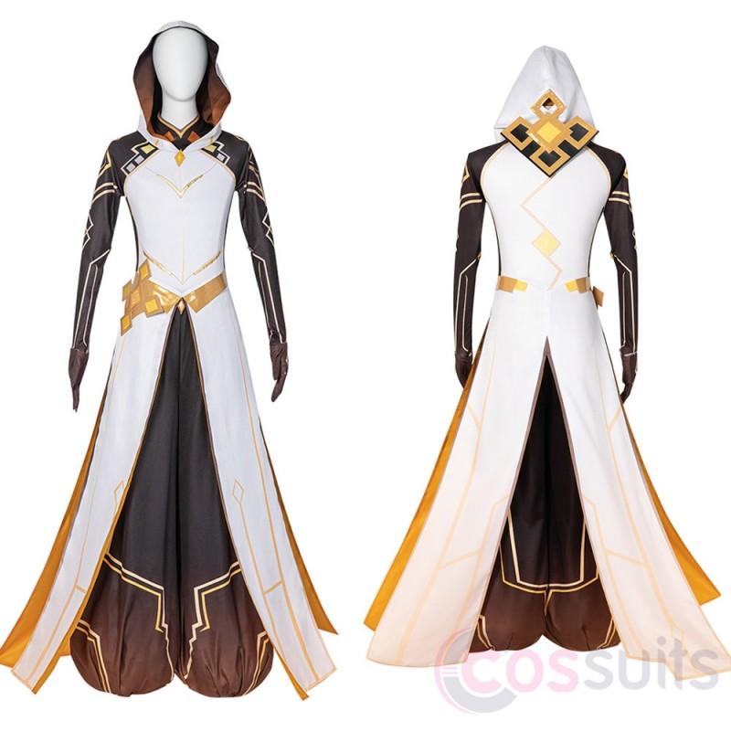 Zhongli Costume Game Genshin Impact Cosplay Outfit