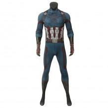 Avengers 3 Infinity War Captain America Steve Rogers Jumpsuit