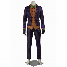 New Batman Arkham Asylum Joker Cosplay Costume