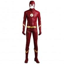 Barry Allen Suit The Flash Season 4 Cosplay Costume