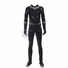 Black Panther Costume Captain America Civil War T'Challa Suit