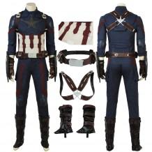 Avengers 3: Infinity War Captain America Steve Rogers Cosplay Costume