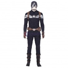 Captain America Cosplay Costume Avengers Endgame Steve Rogers Cosplay Suit