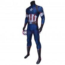 Avengers: Age Of Ultron Captain America Jumpsuit Steve Rogers Costume
