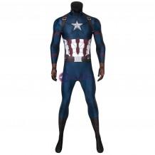 Avengers: Endgame Captain America Jumpsuit Steven Rogers Costume