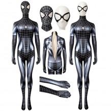 Black Cat Jumpsuit Spiderman Black Cat Symbiote Cosplay Costume