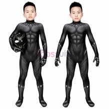 Black Panther Costume For Kids T'Challa Cosplay Suits Children Halloween Costumes