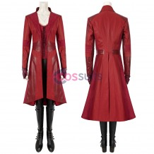 Captain America Civil War Scarlet Witch Wanda Costume Maximoff Cosplay Suit