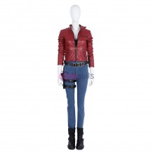 Claire Redfield Cosplay Costume Resident Evil 2 Remake Outfit