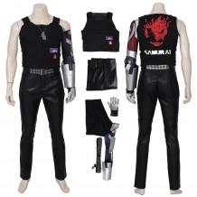 Cyberpunk 2077 Johnny Silverhand Costume Cosplay Suit