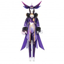 Fatui Cicin Mages Costume Game Genshin Impact Cosplay Outfit
