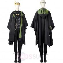 Female Loki Cosplay Costume Sylvie Lushton Lady Cosplay Suit