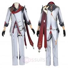 Game Genshin Impact Tartaglia Cosplay Costumes