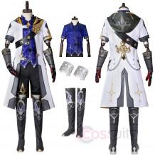 Genshin Impact Albedo Cosplay Costumes Albedo Cosplay Suit