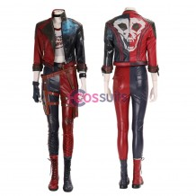Harley Quinn Costume Justice League Suicide Squad Harley Quinn Cosplay Suit
